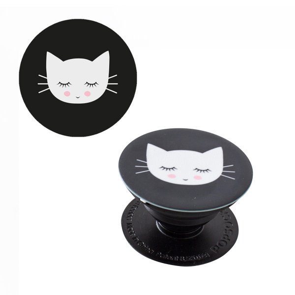 popsockets handyhalter 39 popsocket katze meow 39 online kaufen online shop. Black Bedroom Furniture Sets. Home Design Ideas