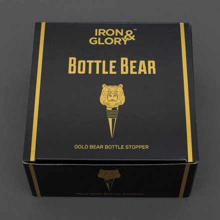 Flaschenstopper 'Bottle Bear'