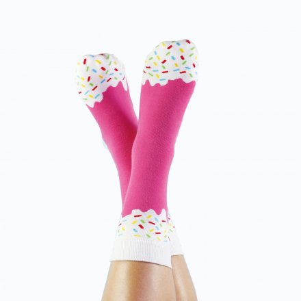 Socken 'Icepop Strawberry'