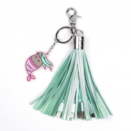 3in1 USB Ladekabel 'Pusheen Tassel'
